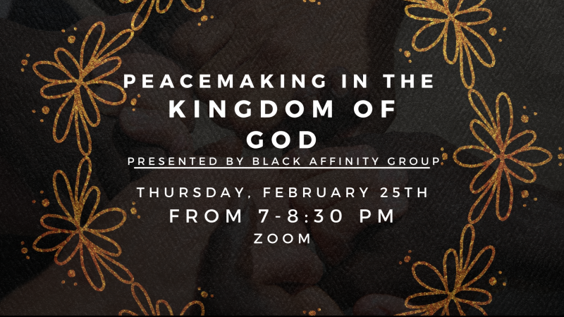 Peacemaking in the Kingdom of God