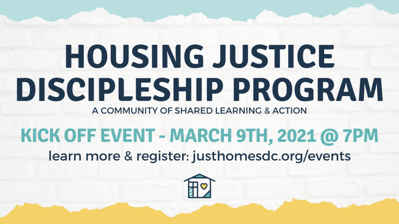 Housing Justice Discipleship Program